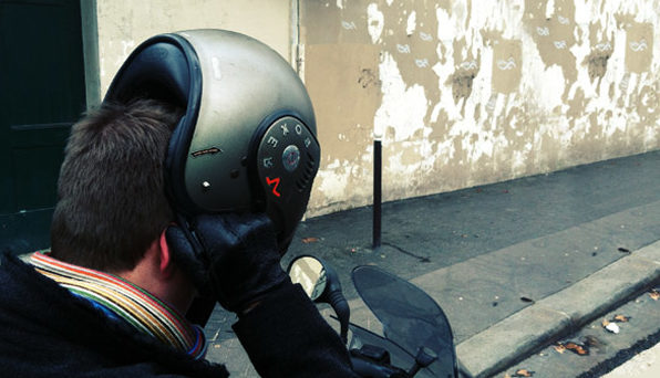 casque scooter